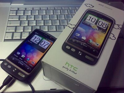 htc desire and android