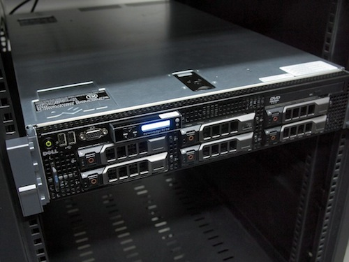 42qu vps first server, dell r710