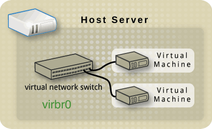 virtual network switch (virbr0)