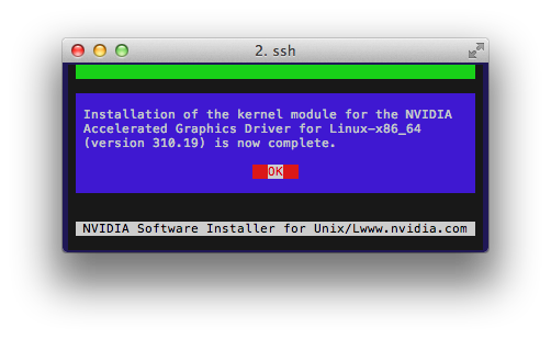 nvidia driver install for cuda