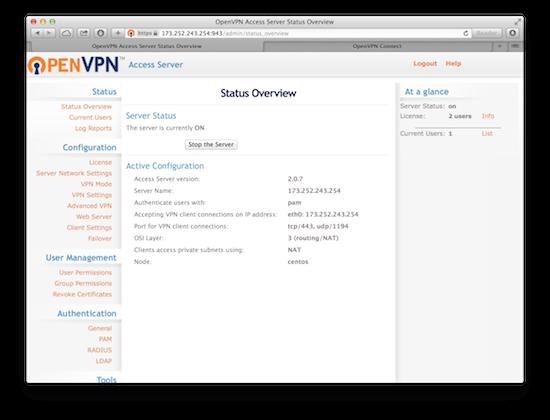 使用 OpenVPN Access Server 轻松搭建 VPN 服务器